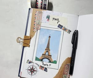 france, paris, and journal image