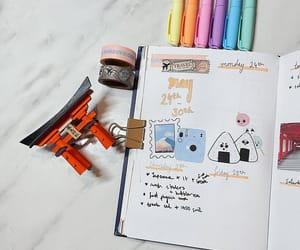 japan, bujo, and bullet journal image