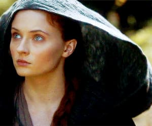 blue eyes, gif, and a song of ice and fire image