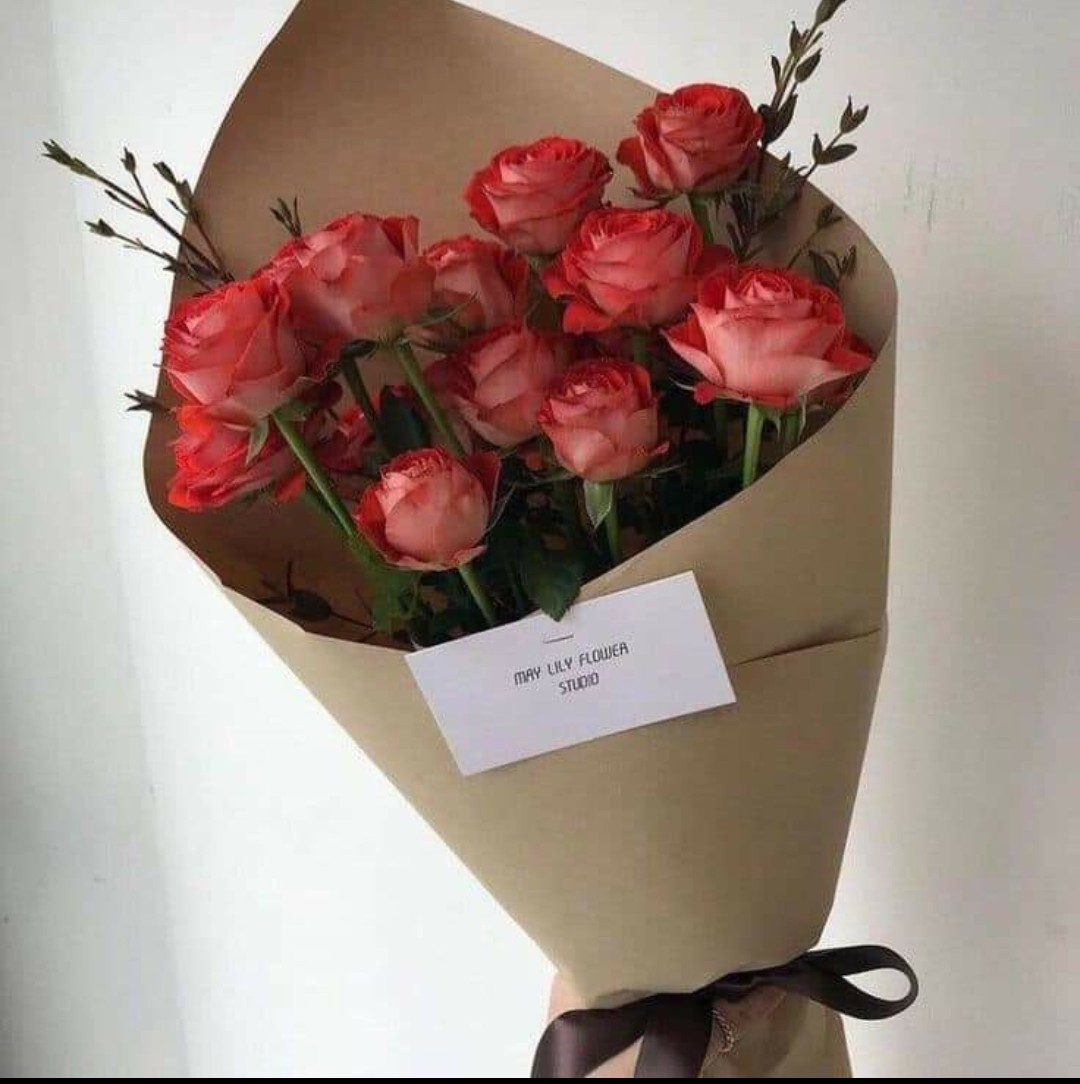 flowers, red, and wow image