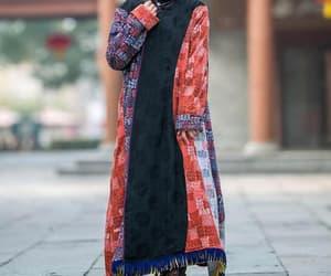 kaftan, warm dress, and women robe image