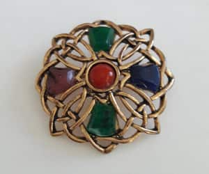 etsy, red stone, and green stone image