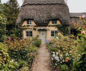 cottage, fairy, and cute image