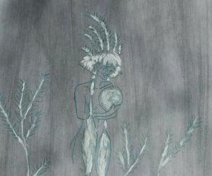 art, aurora, and norwegian image