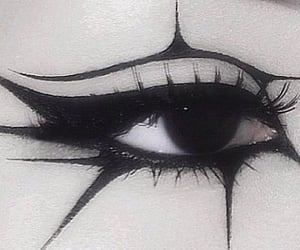 alternative, eye, and goth image