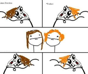 foxface, funny, and the hunger games image