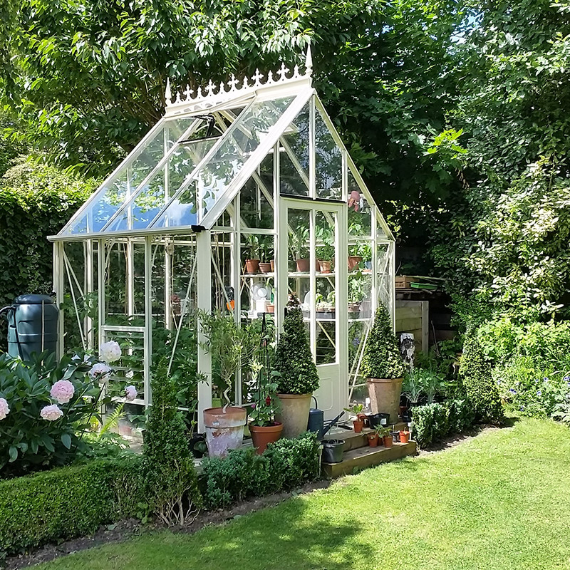 greenhouse, summer, and cottagecore image