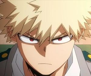 anime boy, bakugo, and anime image