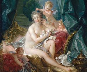 boucher, nu, and rococo image