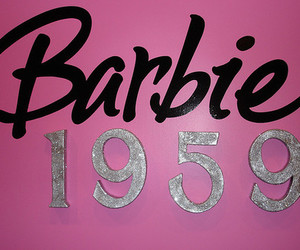 barbie, pink, and 1959 image