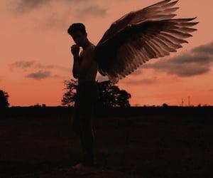 angel, boy, and Dream image