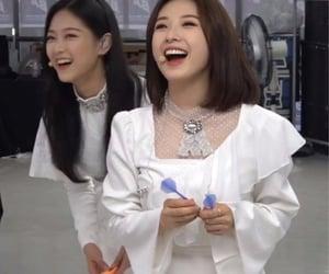 hyunjin, loona, and johaseul image