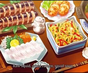 food, anime, and food anime image