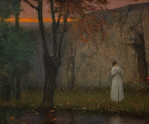 Autumn Sunset - Jakub Schikaneder 1910 / Quelle: fleurdulys.tumblr.com