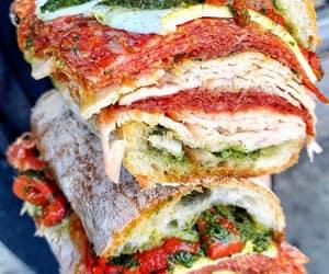 nyc, pesto, and sandwich image