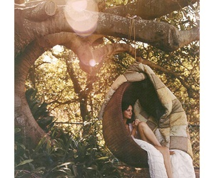 forest, girl, and harmony image