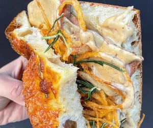 grilled cheese, nyc, and rosemary image