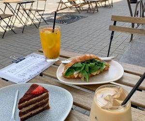 croissant, city, and dessert image