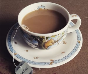 afternoon tea, english, and Pooh bear image