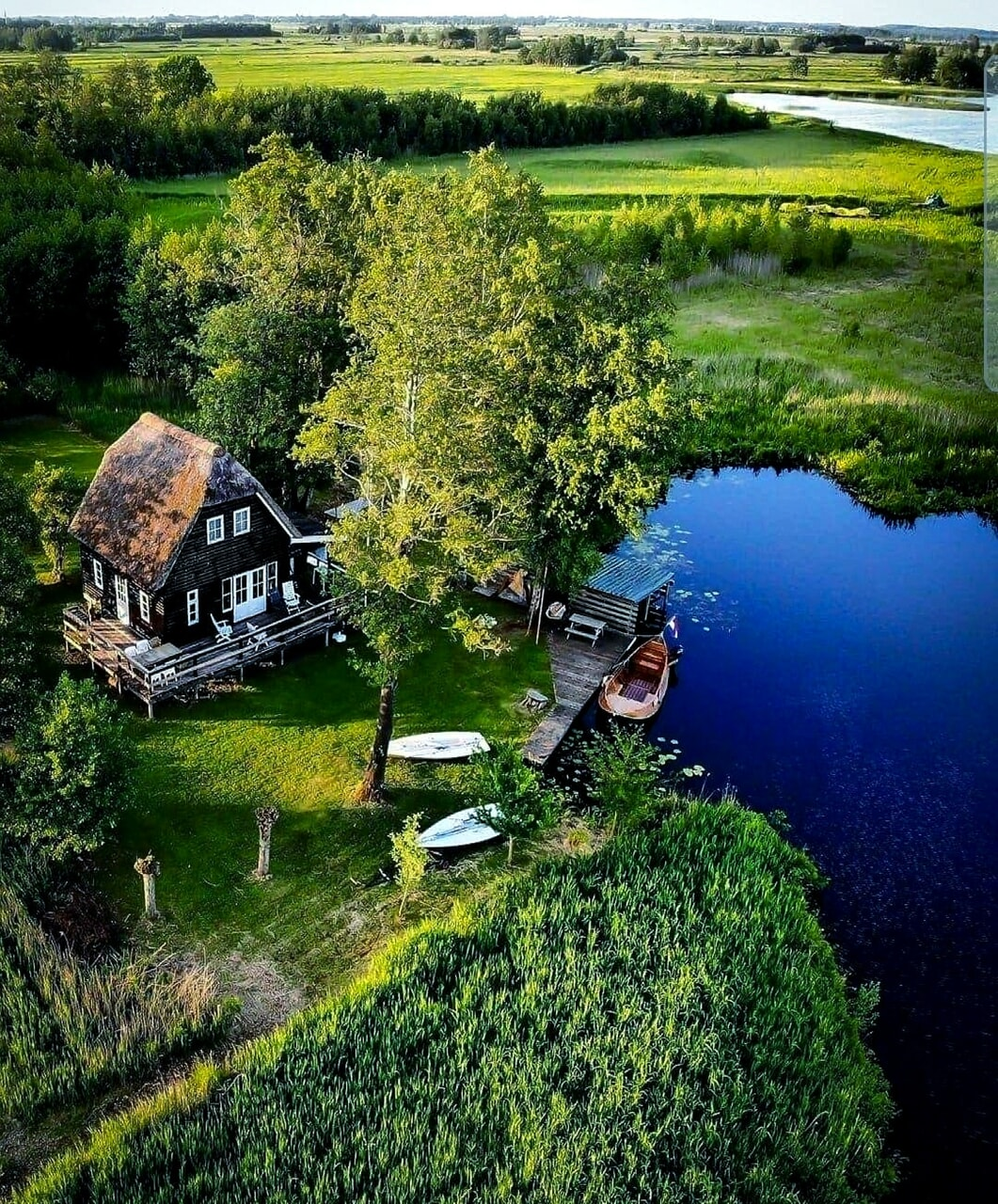 architecture, cottage, and country living image