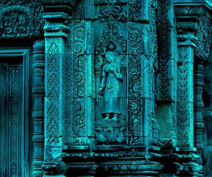 Temple and turquoise image