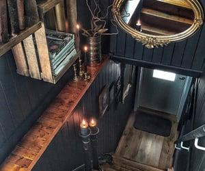stairs and dark interiors image