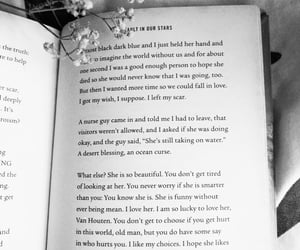 b&w, book, and the fault in our stars image