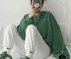 aesthetic, fit, and green image
