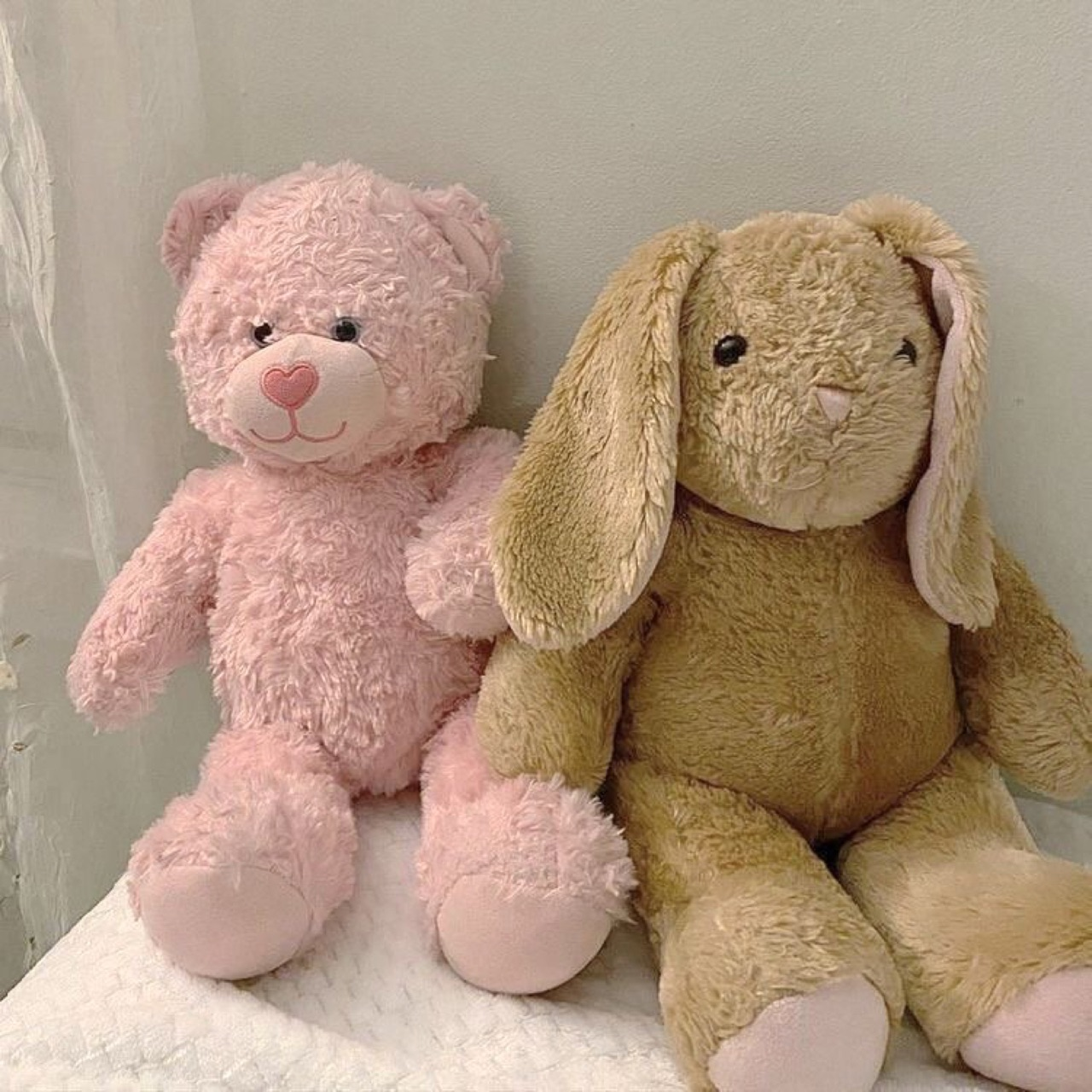 aesthetic, bunny, and pink image