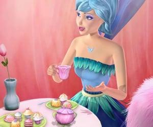 barbie, barbie fairytopia, and flower fairy image