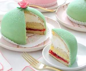 green, sweden, and princess cake image