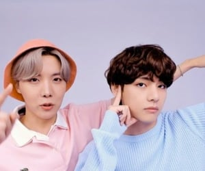 blue, jh, and bts image