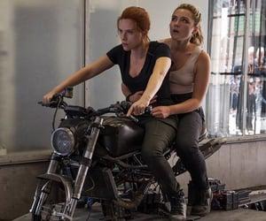Scarlett Johansson and florence pugh image