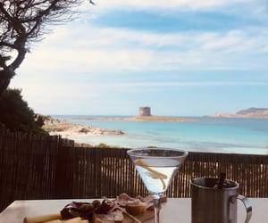 alcohol, Aperitivo, and beach image