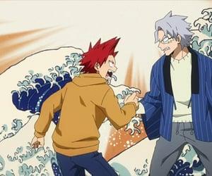 anime, kirishima, and mha image