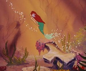 ariel, screenshot, and disney image
