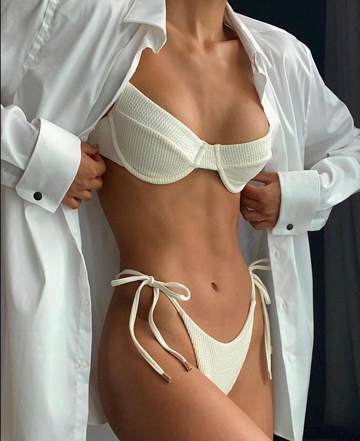 abs, style, and bikini image