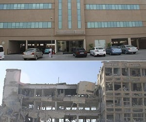 before and after, syria, and photography image