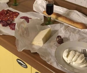 kitchen, aesthetic, and cheese image