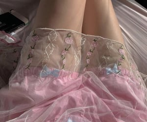 aesthetic, delicate, and pink image