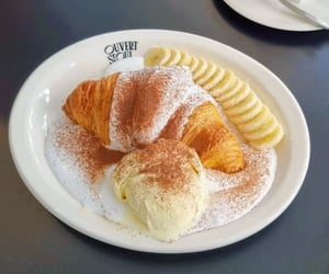 banana, korea, and beige image