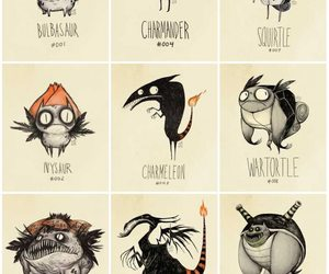 monsters, pokemon, and tim burton image