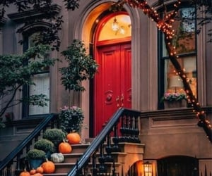 Red door Halloween New York