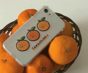 orange, aesthetic, and tangerine image