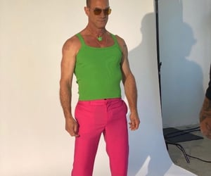 actor, clothes, and green image