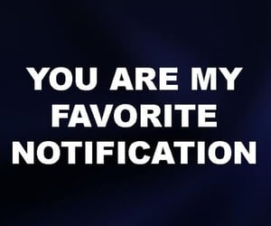 love and notification image