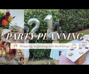 balloons, bouquet, and planning image