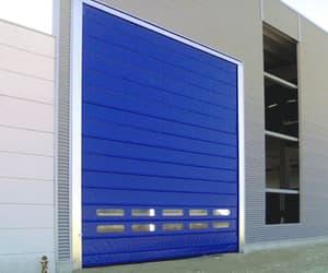 high speed fold up door image