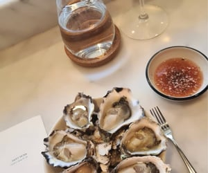 delicious, food, and oysters image