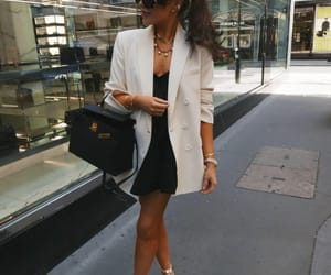 blogger, hermes, and outfit image
